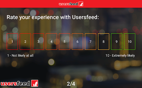 Usersfeed Business - náhled