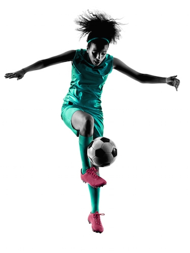 Image of soccer player running