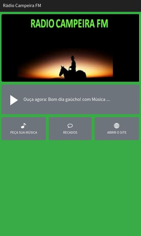 Rádio Campeira FM- screenshot