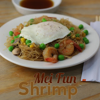 Mei Fun Shrimp.