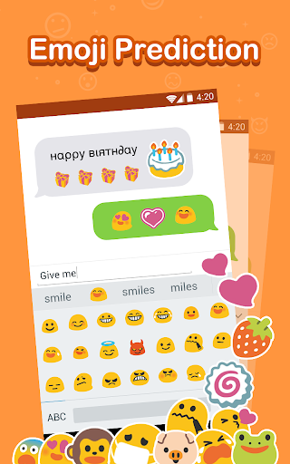 Emoji Keyboard - Cute Emoji,GIF, Sticker, Emoticon 2.2.4 screenshots 6