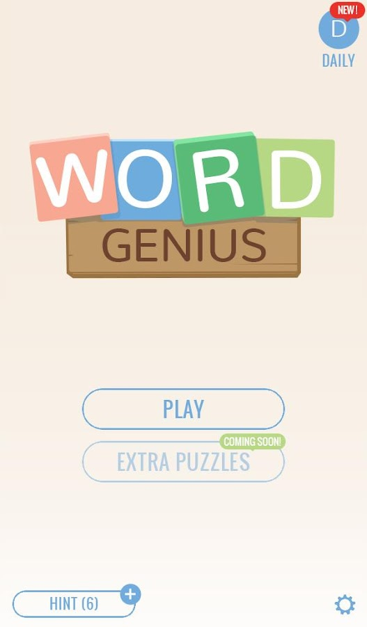Word Genius: Train Your Brain- screenshot