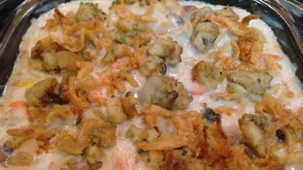 Leftover Turkey Dinner Casserole By Maggie Recipe