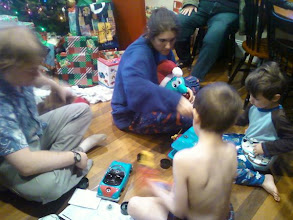 Photo: Josh, my sister Beth, and my 2 nephews