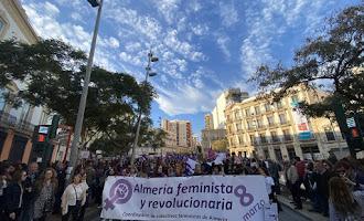 Marcha 8M 'Almería feminista y revolucionaria'