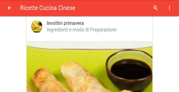 Ricette cucina cinese android apps on google play - App cucina gratis ...
