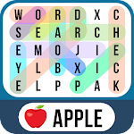 Word Search Emoji - Find Hidden Words Icon