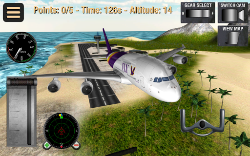 Flight Simulator: Fly Plane 3D Screenshot