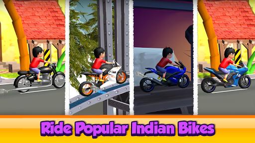 Cartoon Cycle Racing Game 3D androidiapk screenshots 1