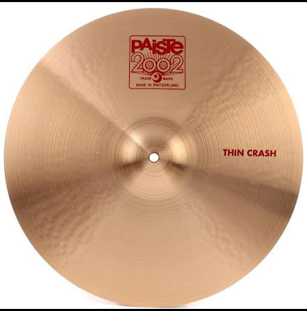 """16"""" Paiste 2002 - Thin Crash"""