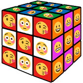 Cube game for emoji
