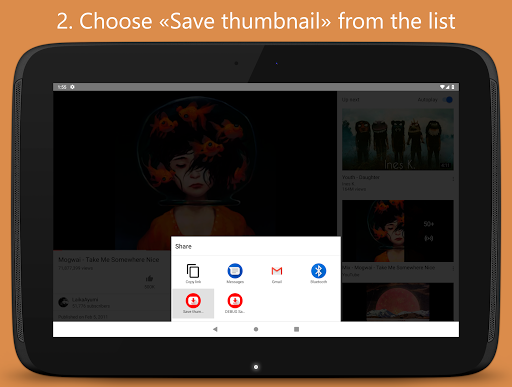 Thumbnail Saver for YouTube 1.3 screenshots 9