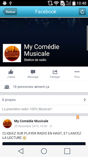 MY COMEDIE MUSICALE app (apk) free download for Android/PC/Windows screenshot