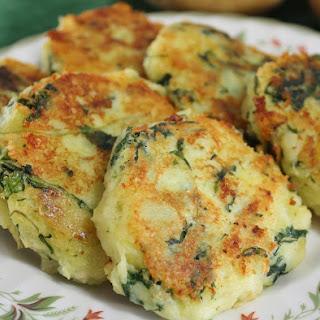 Kale and Potato Cakes.