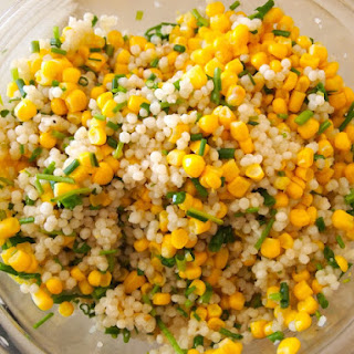 Couscous with Corn and Chives.