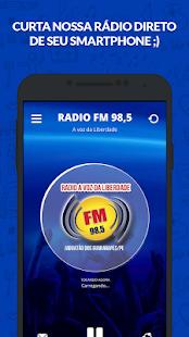 Rádio FM A Voz da Liberdade - 98,5 - náhled