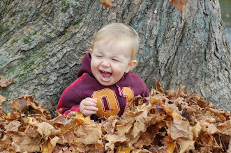 Photo: Lovin' the leaves this Autumn. Wes, Oct. 2010