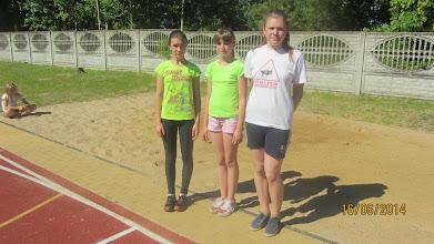 Photo: Medalistki w komplecie. Od lewej Marzena Małys, Karolina Gierakowskai Karolina Ratajewska.