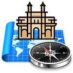 3D Mumbai: Maps + GPS Icon