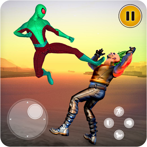Superhero Kung Fu Fighting Street Crime City Sim