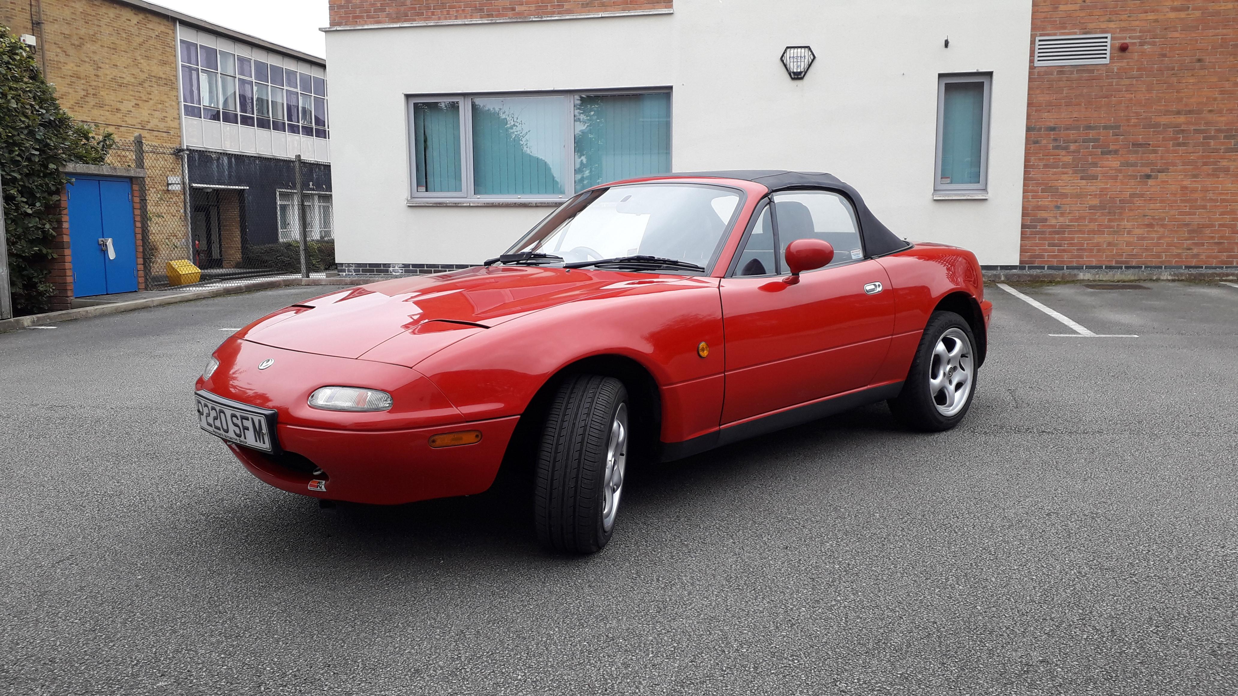 Mazda Mx5 Mk1 Hire Knutsford