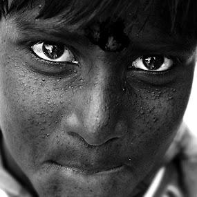 by Prithiviraj Kiridarane - People Portraits of Men ( b/w, child, portrait )