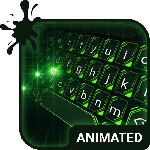 Green Light Animated Keyboard