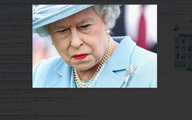 Disappointed Queen