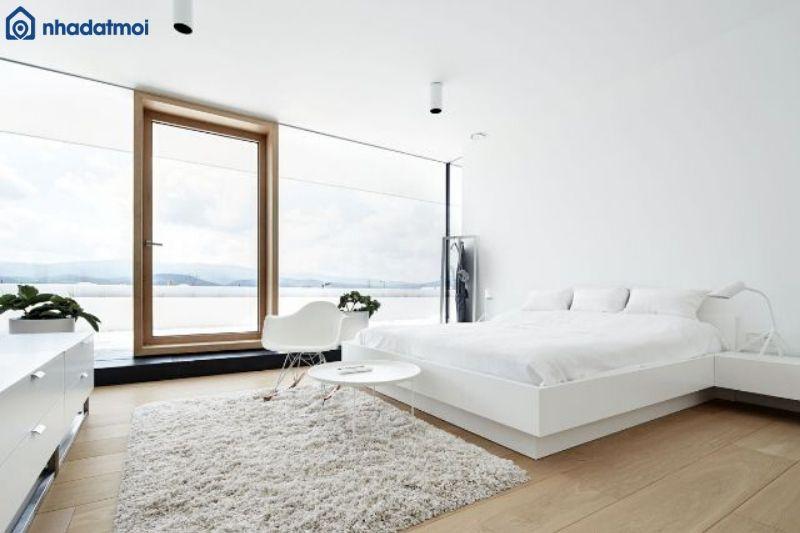 Tầm nhìn rộng rãi sẽ khiến căn phòng thêm hoàn hảo hơn