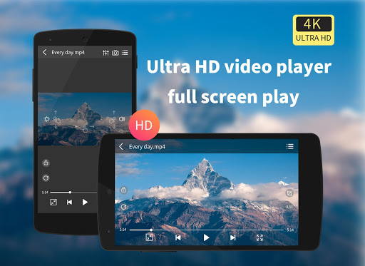 VX Player - 4K Video Player App Report on Mobile Action