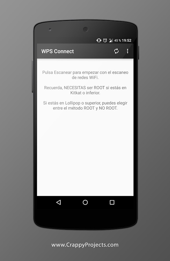 WPS Connect: captura de pantalla