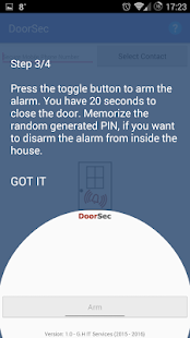 DoorSec Quick Door Security Screenshot