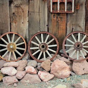 Three Wheels by Diane Garcia - Artistic Objects Antiques ( nelson,  )