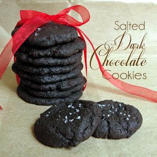 Salted Dark Chocolate Cookies