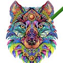 Adult Coloring Book FREE 2019 👩🎨 by ColorWolf icon