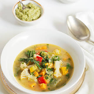 Summer Garden Vegetable Soup.