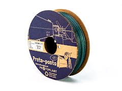 "Proto-Pasta ""Unicorn Tail Teal"" Multi-color Glitter HTPLA - 2.85mm (0.5kg)"
