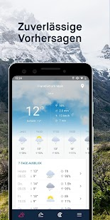 WeatherPro: Wetter, Radar & Widgets Screenshot