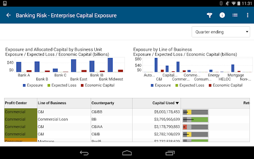 SAS Mobile BI- screenshot thumbnail