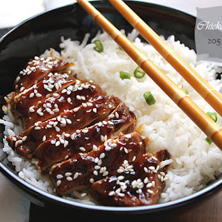 Chicken Teriyaki - Low Calorie.