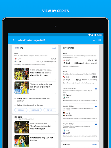 ESPNCricinfo - Live Cricket Scores, News & Videos 6.1.1 screenshots 12