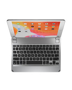 Brydge Aluminium Bluetooth Keyboard for iPad 10.2 - Silver