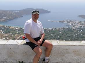 Photo: Harri, alhaalla Serifos-saaren Livadin satama.