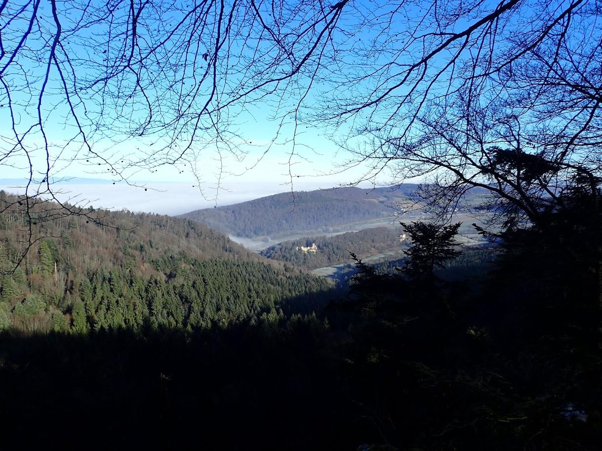 Vue depuis le Roc du Corbeau