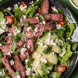 Mexican Grilled Steak Salad.