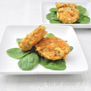 Healthier Corn Fritters.
