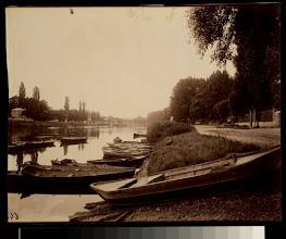 Photo: Les Bords du Marne au Perreux (Seine)