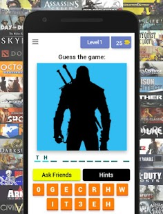 Guess the Game - a cool quiz about games - náhled