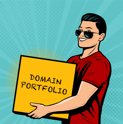 Did early domain investors sell their portfolios because of decreased end-user interest?