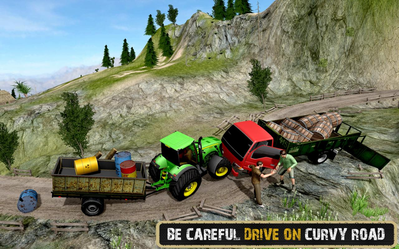 Screenshots of Tractor Driver Transport 2017 for iPhone